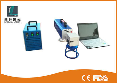China JCZ Control CO2 Laser Marking Machine 220V 70mm * 70mm Working Area For PVC Material supplier