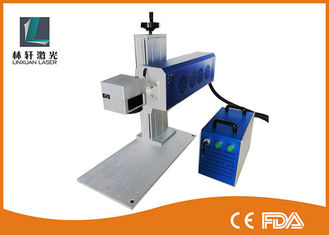 China Low Consumption 30W CO2 Portable Laser Marking Machine For Acrylic / Plastic supplier