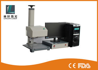 China Round Cylinder Rotary Dot Peen Marking Machine Energy Saving For Metal Steel supplier