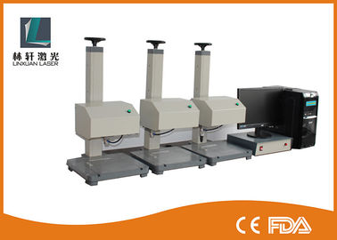 China Numbers Dot Pin Marking Machine , Dot Peen Engraving Machine For Nameplate supplier