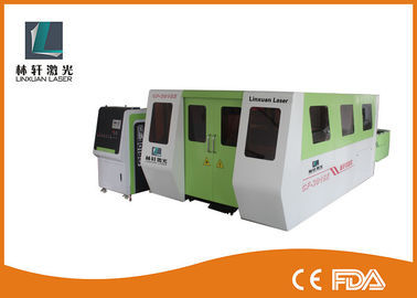 China 2000W CNC Stainless Steel Laser Cutting Machine Water Cooling For Metal supplier