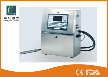 China Industrial Handheld Inkjet Printer , Inkjet Coding Equipment For Conveyor Belt supplier