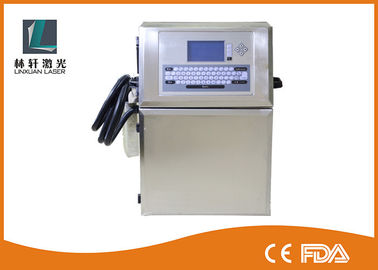 China Automatic Print Industrial Inkjet Printer Laser Batch Coding Machine In Food Beverage supplier