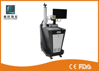 China 3D Fiber Laser Marking Machine 20W 30W 50W 1064 nm Wavelength For Logo / Gold Ring supplier