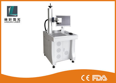 China Raycus Source Fiber Laser Marking Machine 1064 nm Wavelength For Metal Oxide / Faucet supplier