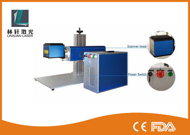 China 50W PCB Capacitance Industrial Laser Marking Machines For Lamp / Pumped supplier