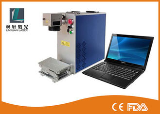 China Precision 2D Metal Laser Marking Machine Air Cooling For Silver Bracelet Ring supplier