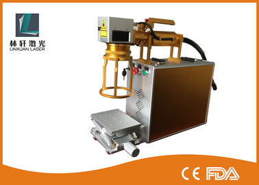 China Energy Saving Metal Laser Marking Machine Portable Laser Etching Machine supplier