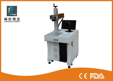 China High Precision Mini Laser Marking Machine , Industrial Laser Marker For Bottles supplier