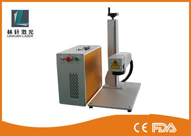 China MOPA Laser Marking Machine , 20 Watt 30 Watt Stainless Steel Laser Engraving Machine supplier