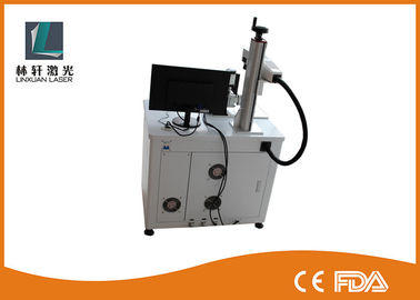 China 20W 30W Desktop Fiber Laser Marking Machine High Precision For PAD Industry supplier