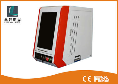 China Coated Enclosed Metal Laser Engraving Machine 7000 Mm/S For Carving Etching supplier
