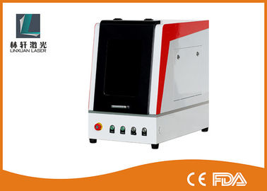 China 10W 20W 30W 50W Metal Laser Engraving Machine 20 KHz - 80 KHz With Enclosed Door supplier