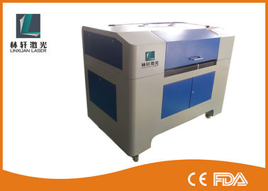 China Fully Automatic 100 Watt CO2 Laser Engraving Cutting Machine Durable With Water Chiller supplier