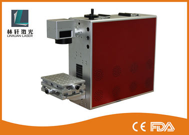 China Air Cooling Fiber Metal Laser Engraving Machine For Gold / Stainless Steel / Silver supplier