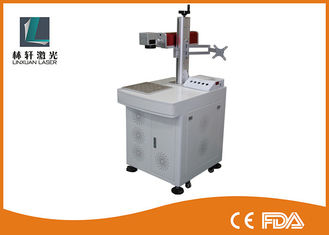 China Small Size Metal Laser Etching Machine , Easy Move Jewelry Engraving Machine supplier