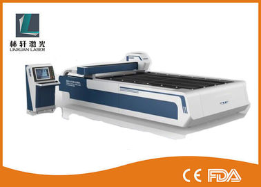 China Carbon Steel / Stainless Steel Laser Cutting Machine 500W With Continuous Wave Laser supplier