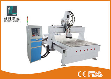 China Heavy Flatbed Mini CNC Router Machine 3D Engraving Machine For Copper / Brass supplier