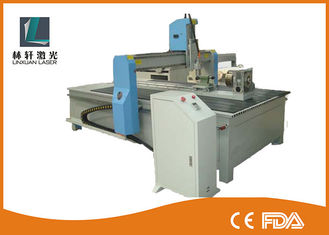 China Granite Engraving CNC Router Machine Marble Stone Cutting Machine Z Axis 120mm supplier