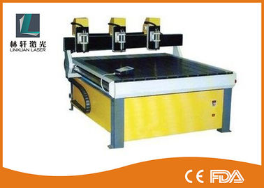 China Mini CNC Engraving Machine , CNC Wood Carving Machine With Steady Data Transmission supplier