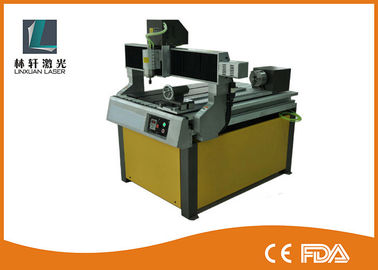 China High Speed Rotary Small CNC Router , CNC Carving Machine For Wood / Plastic supplier