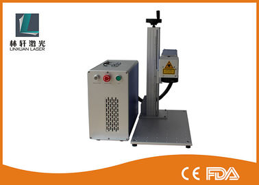 China Bearing Mini Portable Laser Marking Machine Mopa Marking Colors On Stainless Steel supplier