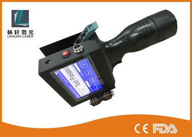 China Environmentally friendly Handheld Inkjet Printer for Code Marking on Wood , Metal supplier