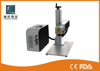 China High Speed Fiber Laser Marker , Air Cooling Serial Number Engraving Machine supplier