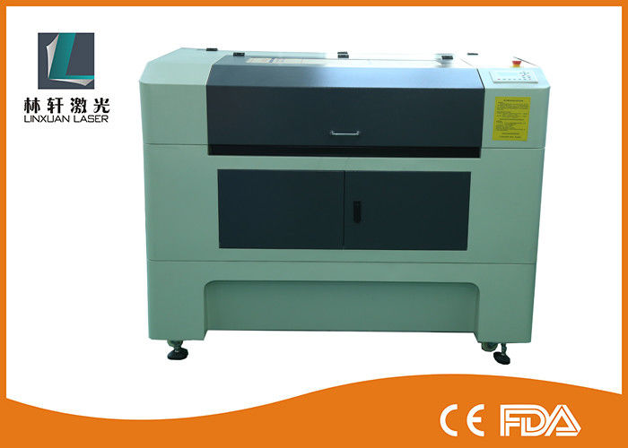 LCD Control CO2 Laser Engraving Cutting Machine Water