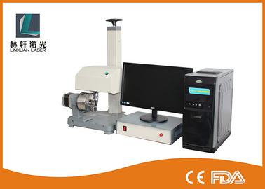 China Metal Label Dot Peen Marking Machine 200mm x 150mm For Component Identification factory