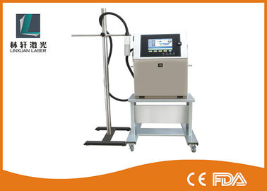 Label / Expiry Date Printing Machine , Continuous Inkjet Printer For Batch Coding