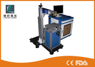 China Online Flying 60w CO2 Laser Marking Machine For PVC Pipe / Cables Wires distributor