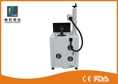 China 20w Fiber Laser Marking Machine , Mopa Laser Marking Machine For Stainless Steel factory