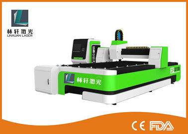 380V 50HZ Fiber Laser Cutting Equipment , Water Cooling Desktop Laser Cutter