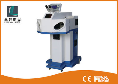High Precision Jewelry Welding Machine , 200W YAG Laser Spot Welding Machine