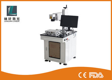 China Safety Case Design UV Laser Marking Machine For Glass / Medical Packaging factory