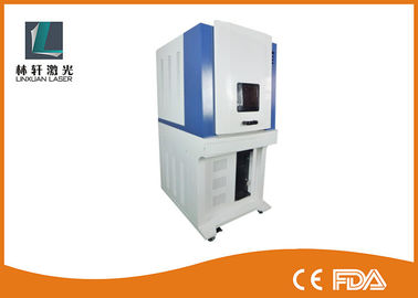 China 5W UV Laser Marking Machine Low Power Consumption For Glass / Diamond factory