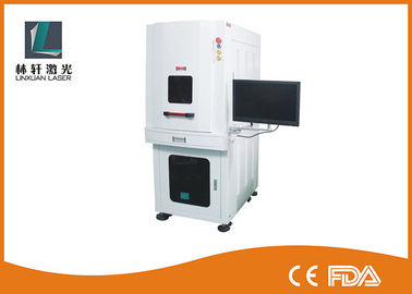 China Air Cooling UV Laser Marking Machine 3W - 5W For Agate / Crystal / Mobile Phone factory
