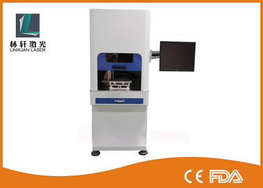 Small PCB Plastic Plate UV Laser Marking Machine Water Cooling With Friendly Interface