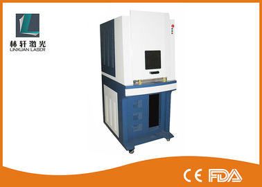China Electronic Components UV Laser Marker , Water Cooling Glass Laser Engraving Machine factory
