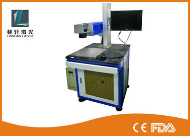 China High Precision UV Laser Marking Machine 355 Nm Wavelength For Plastic Bottle distributor