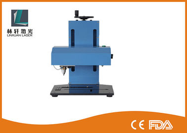 China Economic Portable Dot Peen Marking Machine 100W For Automobile / Aluminum factory