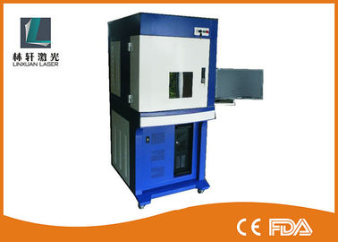 China High Speed UV Laser Marking Machine Water Cooling 355nm 3W 5W 10W For Leather factory