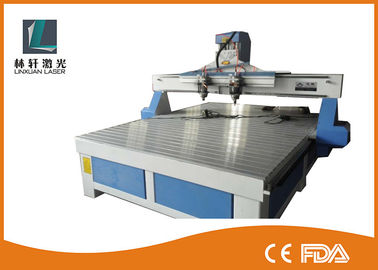 China Intelligent 4 Heads 3D CNC Router Wood Working Machine For Furniture Sculpture factory