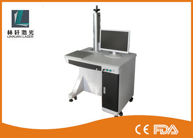 China Ipg Colorful Fiber Laser Printer With Galvenometer Head , Lifting Type distributor
