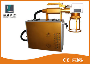 China 2D Data Code Laser Marking Systems Portable Marking Machine For Steel distributor