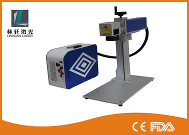 China Glass Fiber Laser Marking Systems 50w PCB Laser Marking Machine With Original EZCAD Software distributor