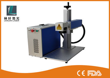 China Stone / Jewelry Laser Marking Machine Laser Marking Systems For Plastic Metal Parts distributor