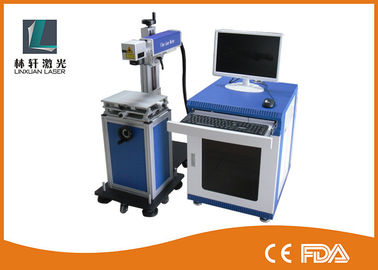 China High Efficiency Desktop Laser Marking Machine For Jewelry , Fly Laser Marker factory